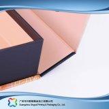 전시 나무로 되는 마분지 선물 또는 화장품 (xc-hbc-003)를 위한 접히는 수송용 포장 상자