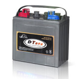 батарея для гольфа, электрический корабль цикла надежного источника питания 6V глубокая