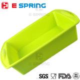 BPA liberano la grande muffa dello stampo per dolci del silicone del quadrato di formato