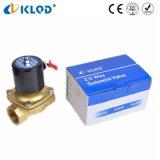 Fatto in elettrovalvola a solenoide ad azione diretta dell'acqua dell'aria dell'ottone 110V 220V 12V 24V della Cina