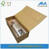 Brand Wine Packaging Rectangle Paper Bottle Preservation Packing Box