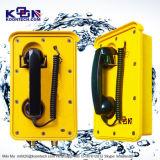 Teléfono ferroviario impermeable de la ayuda del teléfono Emergency del SIP de los teléfonos del IP de la mina