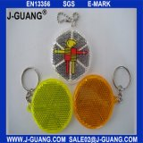 Отражательное плоское Keychain, рефлектор Safey детей (JG-T-25)