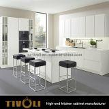 Het Schilderen van het Ontwerp van de Strook van het Handvat van het aluminium het Vrije Witte Meubilair van de Keuken (AP082)
