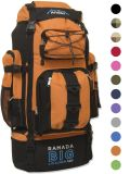 120L grand camper supplémentaire/augmentant le sac de Bagpack de bagage de sac à dos/sac à dos