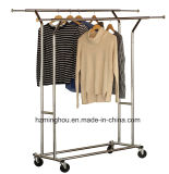 Oberster Handelsgüte-Doppelt-Schienen-Kleid-Magnetrollenrahmen, Chrom-Ende