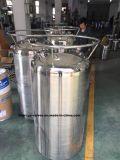 Las piezas del extractor--tanque de almacenamiento de acero inoxidable