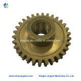 Customed CNCの機械装置のための機械化の精密ギヤ