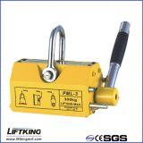 Elevador magnético permanente para placa de aço e aço redondo 100kg -6000kg