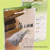 Dobro de papel mineral rico impermeável do papel da rocha (RPD-120) revestido