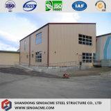 Fournisseur professionnel pour l'atelier/parking/entrepôt de cloche de structure métallique