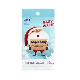 Chemikalien-freie Neugeborene machten Wischer-bewegliche Verpackung naß