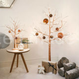 Micro Fairy Light Decoração da planta de vaso Starry Night Lights Moon Stars White LED