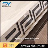 Wohnzimmer-Möbel-weißer Marmor Fernsehapparat-Schrank Fernsehapparat-Tisch