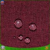 Tissu tissé ignifuge imperméable à l'eau de revêtement de rideau en arrêt total de polyester