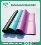 Matten van de Yoga van het Natuurlijke Rubber van de Mat van de Yoga van de Chemische producten Pu van het latex de Rubber & niet Giftige