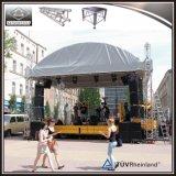 Système d'armature de toit incurvé par aluminium de prix usine pour le concert