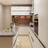 コンパクトな現代台所家具の藤の台所家具