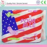 Weibliche Hygiene-Produkt-Frauen-gesundheitliche Serviette-gesundheitliche Auflagen