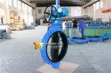 Borracha cheia atuador elétrico alinhado da válvula de borboleta Dn900 C/W (D971X-10/16)