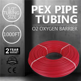 Calor radiante Pex del suelo de la barrera del oxígeno del aislante de tubo de la pulgada el 1000FT Mophorn Pex del 1/2