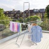 Gullwingの乾燥ラックを折る洗濯のためのラックを乾燥する頑丈な衣服