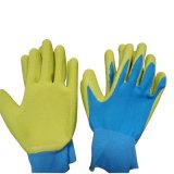 Перчатка работы латекса пены перчаток детей цветастая садовничая покрынная ладонью