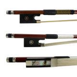 Смычок скрипки смычка скрипки 4/4 Brazilwood для сбывания