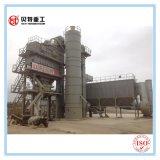Máquina de mistura concreta quente do asfalto da mistura 80t/H do PLC de Siemens do projeto modular com baixa emissão