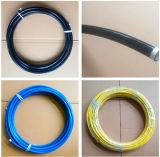 """SAE100 R7 1/2"""" sur le fil Haute pression/résine tressée flexible en acier"""