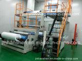 Cabeça rotativa a dupla rebobinador película PE máquina de sopro