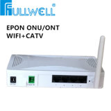 Triple Play Network Box Epon ONU com CATV Wdm 4fe