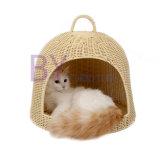 Animale domestico diTessitura Waterloo del Doghouse del rattan del PE di vendita calda