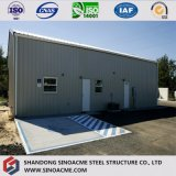 Construction de bâti en acier/construction/entrepôt préfabriqués avec la conformité de la CE