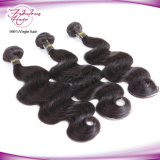 Человеческие волосы Remy надкожицы зашитые в волосах Peruvian девственницы выдвижений волос