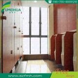 L pulsa a puertas impermeables la ducha completa para los cuartos de baño