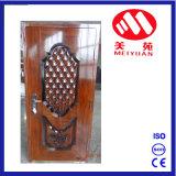 Puertas de entrada de acero decorativas de las ventas de la puerta superior de la India