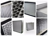 La eficacia alta Profundo-Plisa el filtro de HEPA para el sitio limpio
