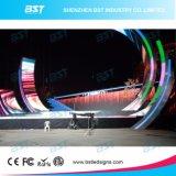 El panel de visualización de alquiler de LED de la demostración P4.81 del concierto de la etapa con 1/16 exploración que conduce modo