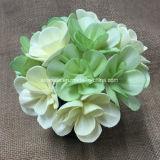 Flor de madera artificial coloreada de Sola para la decoración de la boda (SFA41)