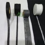 Peso ligero negro tejido fusible del PUNTO del estiramiento de la venda de la cintura que interlinea