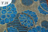 Ткань софы жаккарда супер популярного синеля 2017 большая
