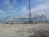 Gruppo di lavoro galvanizzato della struttura d'acciaio del TUFFO caldo