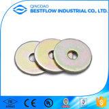 Rondelles plates galvanisées par acier