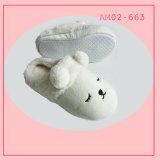 Zapatillas de interior Blanco Camiseta manera suave los animales de peluche