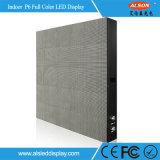 HD P6mm fijo en el interior de vídeo LED pantalla de publicidad firmar con alta calidad