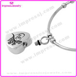 Bracelet Charms Heart crematie Sieraden voor Ashes Stainless Steel