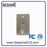 Bouton inoxidable de ventes chaudes avec 2 clés (SB70E)