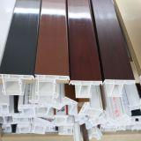 Perfil de la ventana de UPVC en diverso perfil del PVC de las secciones
