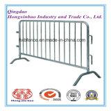 Barricada del peatón de la barrera del metal de la barrera de seguridad de tráfico
